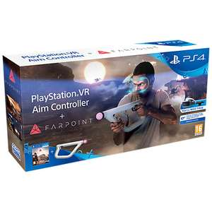 Farpoint Aim Controller & Game PS4 BACK IN STOCK £74.95 @ John Lewis