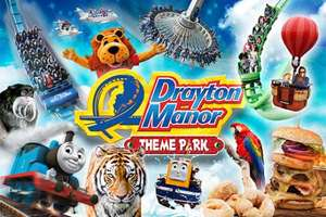 54% Off Drayton Manor - 1 Day Ticket + Meal Deal + VertiGO entry £22pp + FREE parking @ 365 Tickets