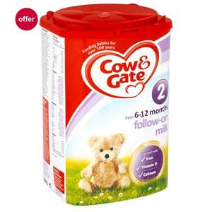 Boots - Free Cow & Gate cereal/porridge when you buy follow-on milk £9