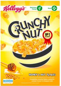 Kellogg's Crunchy Nut Cornflakes Cereal (1kg) was £4.00 now £3.00 @ Sainsbury's