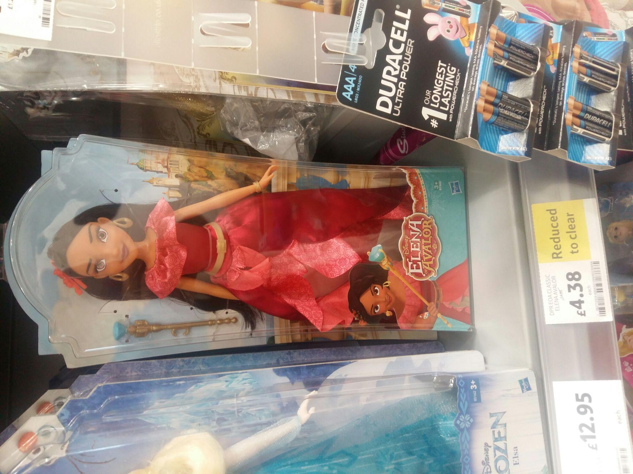 Disney Elena of Avalor doll £4.38 at Tesco Roborough