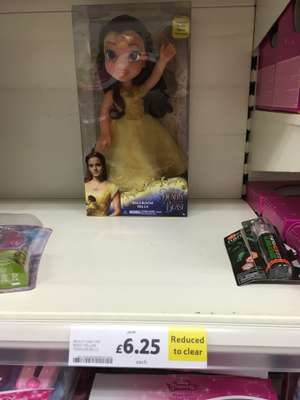 Beauty and the beast ballroom belle £6.25 at Tesco - Burnley