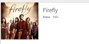 Firefly TV Show £6.99 Digital HD via Google Play