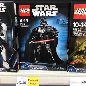 Lego Star Wars Darth Vader 75111 Constraction Figure - £12.50 instore at Tesco romford