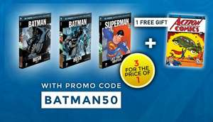 3 for the Price of 1: DC Graphic Novels Offer - via EagleMoss Publications - £8.99 + P&P