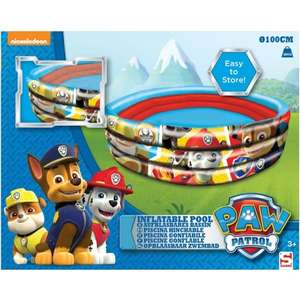 Paw Patrol Inflatable Pool was £7.99 now £4.99 @ B&M
