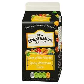 New Covent Garden Soup of the Month (Spicy Mexican Corn) (600g) was £2.00 now £1.00​ (Rollback Deal) @ Asda