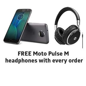 Motorola Moto G5S Plus with free Pulse M headphones worth £50 - Available now. £266.20 delivered from Clove Technology. Price Match Available