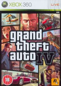GRAND THEFT AUTO IV USED @ MUSIC MAGPIE (X360: £2.99) (PS3 £2.99)