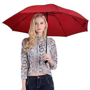 Inverted Reverse Folding Travel Umbrella  Sold by sococo official and Fulfilled by Amazon from. £6.99-7.99 with prime other wise £3.99 delivery applies