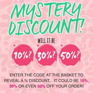 Get The Label Mystery Discount - of 10% 30% or %50 with code