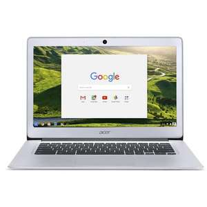 "Refurbished Acer CB3-431-C9WH 14"" Intel Celeron N3060 1.6GHz 2GB RAM 16GB SSD Chrome OS Chromebook in Silver £99.97 - laptopsdirect"