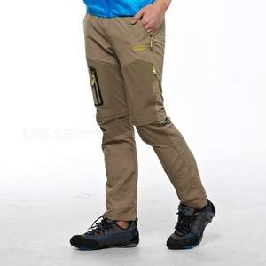 Summer Quick Dry Men's Removable Pants reduced from £18.11 to £16.11 delivered, at dx.com