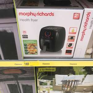 Morphy Richards Health Fryer half price @ Morrisons £40!