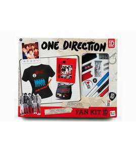 Any 1D super fans out there? One Direction Fan Kit 99p + £4.99 delivery - Studio