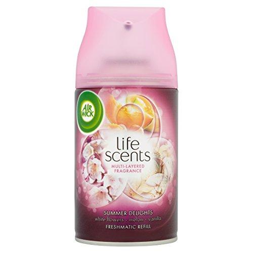 Air Wick Life Scents Freshmatic Max Refill Summer Delights Case of 4 - £4.99  (Prime) / £9.74 (non Prime) at Amazon