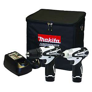 Makita 10.8V Li-ion Cordless Combi Drill & Impact Driver DK1493WX £119.99 from £199.99 @ Wickes