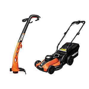 Worx Lawn Mower and Trimmer Set £39.99 @ Wickes