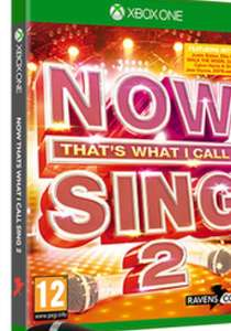 Now That's What I Call Sing 2 with Microphone - Xbox One/PS4 - £9.99 @ Game