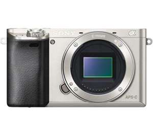 Sony A6000 digital camera Body Silver @ Bristol Cameras £389 + cashback £100 = £289