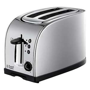 Russell Hobbs 18096 2-Slice Toaster, Silver ONLY £18.00 + 2 C+C @ John Lewis