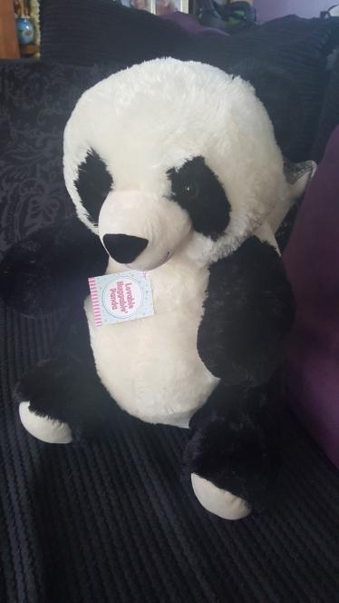 large cuddly panda teddy - £2.50 instore @ Asda