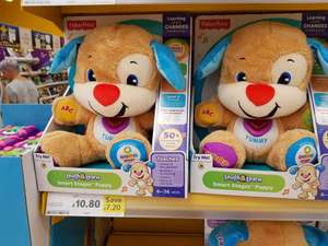 Fisher-Price Smart stages puppy £10.80 in store and online @ Tesco