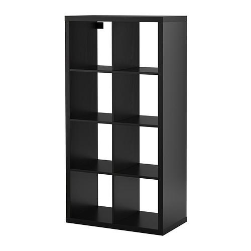 KALLAX Black-brown shelving unit - £40 @ Ikea Nottingham (member price) (NonM - £55)
