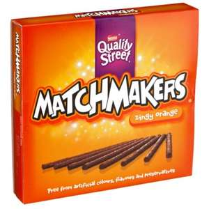 Nestle Matchmakers Cool Mint or Zingy Orange (130g) ONLY £1.00 @ Poundland