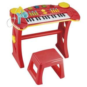 Carousel Light and Sound Keyboard and Red Stool was £25.00 now £15.00 @ Tesco Direct