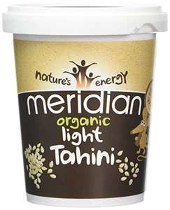 Meridian Light Tahini 454g pack of 6 - £4.99 (Add on item) @ Amazon