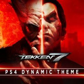 Free Tekken 7 dynamic theme ps4 @ bandai namco