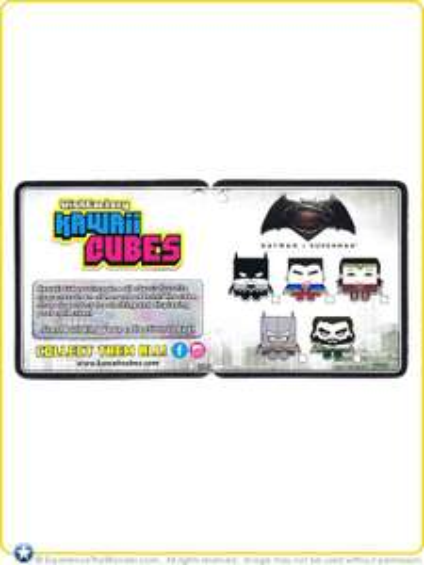 Batman vs Superman Kawaii Cubes £1.00 at Poundland instore