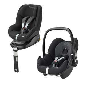 Maxi Cosi Pebble + Pearl + Familyfix Base Bundle - £350 @ Winstanleys Pramworld