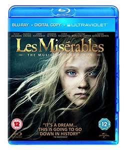 Les Misérables (Blu-ray) £1.45 @Amazon (also get £1 credit to spend on Amazon Video)