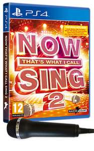 NOW That's What I Call Sing 2 with 1 Microphone - £9.99 @ game.co.uk