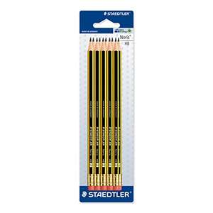 """Good enough for John Wick"" 10 x Staedtler Noris 120 HB Pencil with Eraser Tip - £3 @ Amazon (Add on item)"
