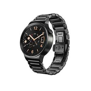 Huawei Watch Black Stainless Steel £192 @ Amazon.com with right credit card