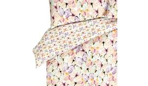 Pastel Butterfly Duvet Cover (Single, Double only) was £13.00 now £6.50 @ George @ Asda