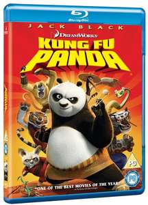 Kung Fu Panda Blu-Ray £1.76 (Prime) @ Amazon (also get £1 credit to spend on Amazon Video)