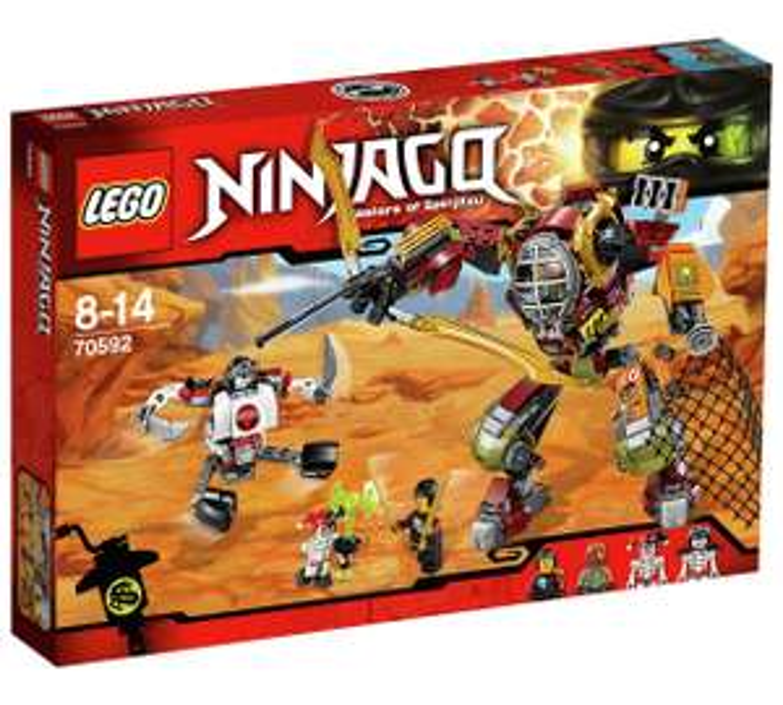 LEGO Ninjago Salvage M.E.C. (RRP £39.99) £19.99 @ Argos (C+C)