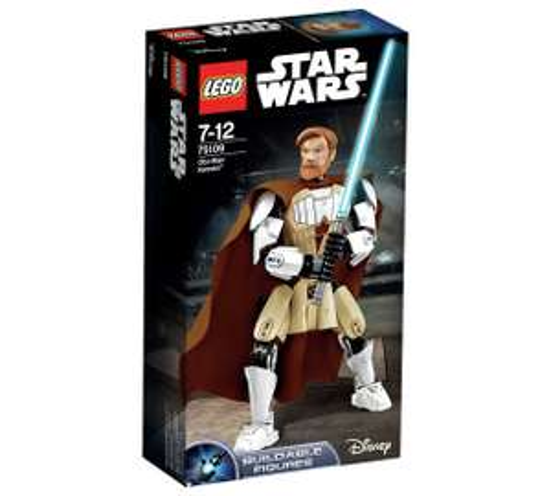 LEGO Star Wars: Obi-Wan Kenobi Constraction Figure £7.99 (+More lego deals in desc) @ Argos