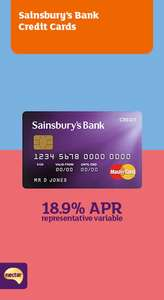 Sainsburys 0% balace transfer card 33 months £20 cashback and .59% fee