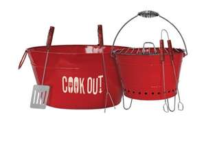 Cook Out 6-Piece Party BBQ Set £6.93 @ Robert Dyas
