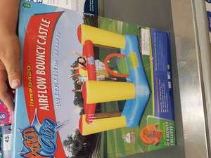 Kids Airflow bouncy castle reduced from £130 to £37.50 in Tesco's - INSTORE ONLY