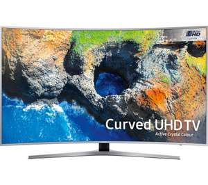 "SAMSUNG 65MU6500 65"" Smart 4K Ultra HD HDR Curved LED TV - £1399 with Voucher Currys"