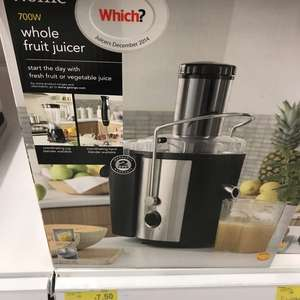 Asda half price kitchen appliances e.g Asda whole fruit juicer £7.50