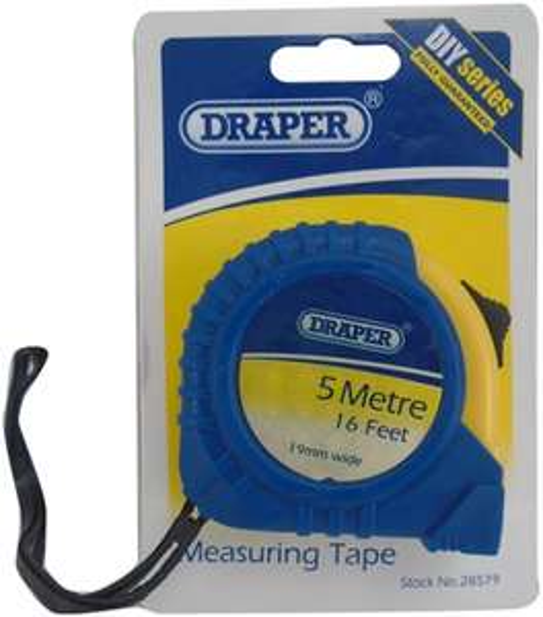 Draper 5m Tape Measure £1 @ Robert Dyas (Free C&C)