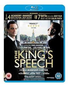 The King's Speech Blu-Ray 50p prime / £2.49 non prime @ Amazon (also get £1 credit to spend on Amazon Video)
