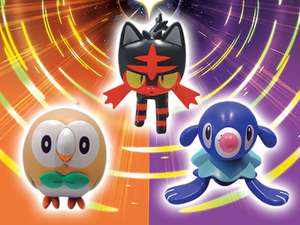 Pokemon Ultra Sun and Ultra Moon 3DS Pre-Order with Free Figure £34.99 @ GAME
